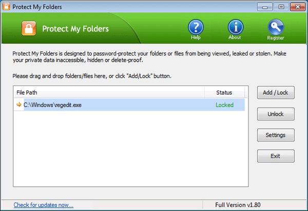 lock-registry-editor