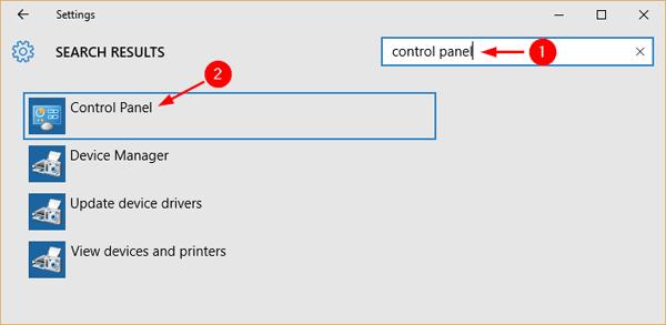 open-control-panel-via-settings