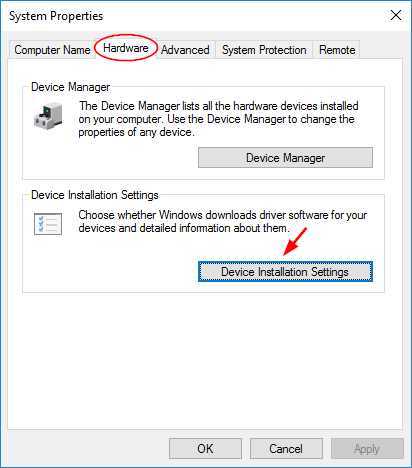 device-installation-setting