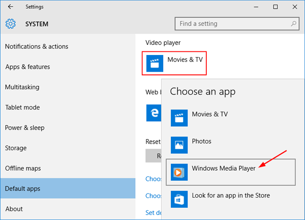 Windows 10 default apps password recovery for Apps to change photos