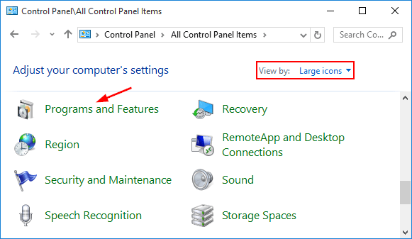 programs-and-features