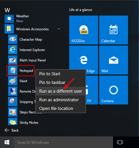 3 Ways to Run App as Different User in Windows 10 | Password