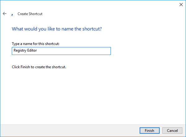 type-name-for-shortcut