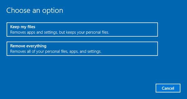 3 Ways to Reset Windows 10 Computer to Factory Settings