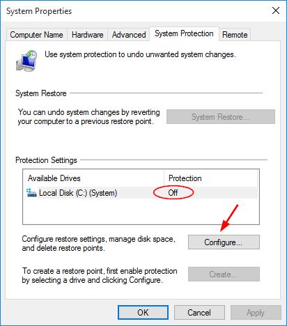 configure-system-restore