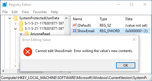 error-edit-registry-value