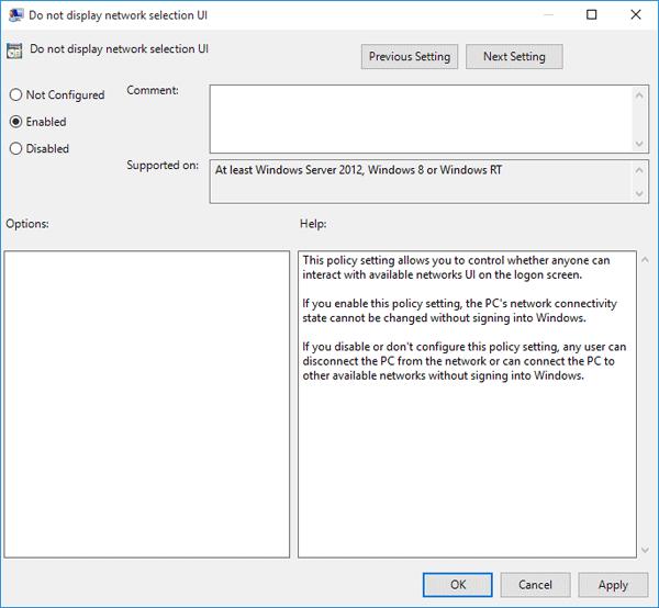 not-display-network-at-login