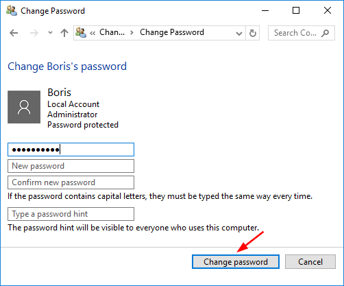 remove-local-password