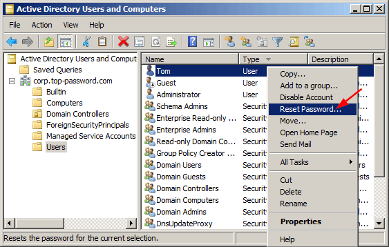4 Ways to Reset Domain Admin Password on Windows Server 2008
