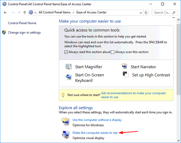 3 Ways to Turn Off / Disable Magnifier in Windows 10