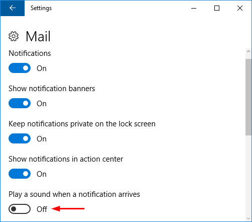 How to Disable or Turn Off Notification Sounds in Windows 10
