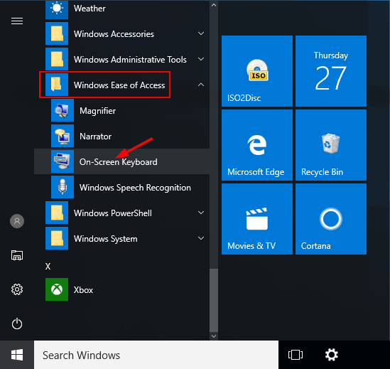 on-screen-keyboard-in-start-menu