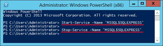 start-sql-server-powershell