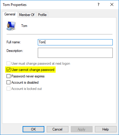 how to change pc password in windows 8