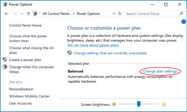 change-power-plan