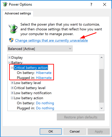 critical-battery-action