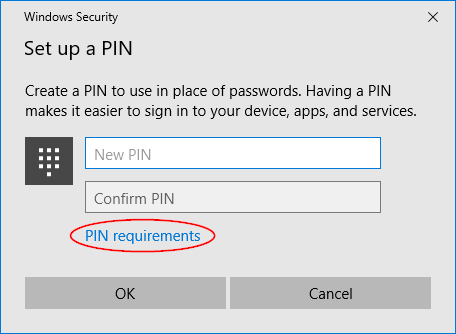 pin-requirements