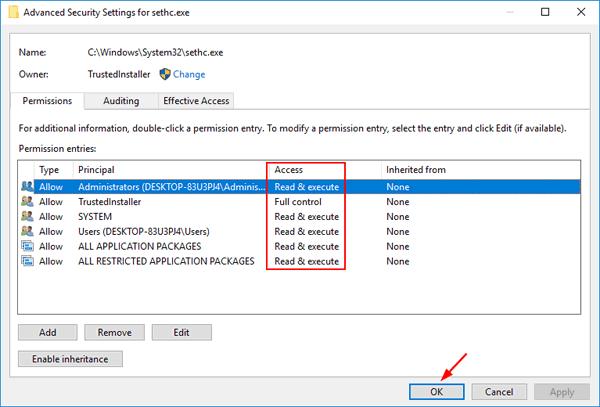 restore-file-permissions