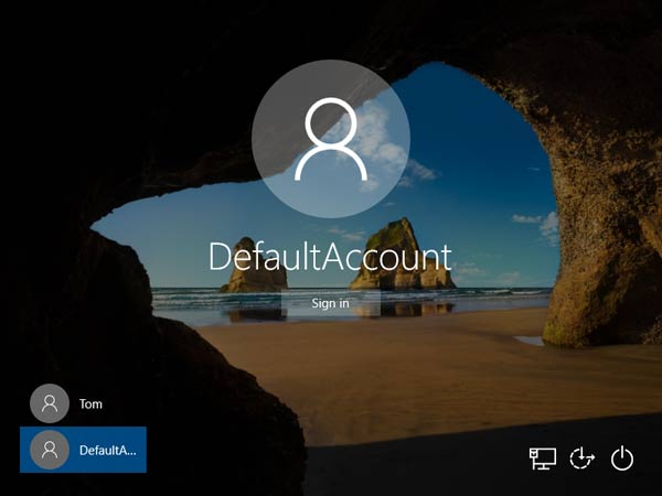 windows-10-default-account