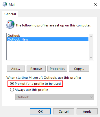 enable-outlook-profile-prompt