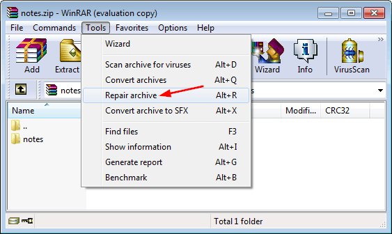 2 Ways to Repair Corrupted or Damaged RAR / ZIP Files
