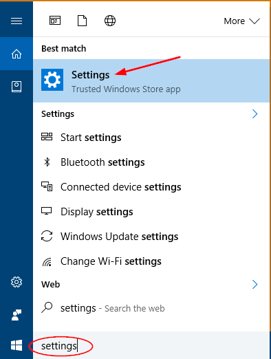 open-settings-via-cortana