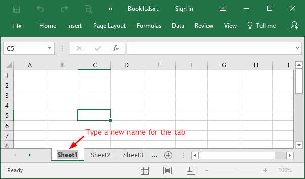 4 Options to Rename One or Multiple Worksheet Tabs in Excel ...