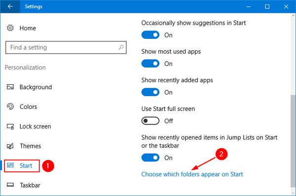 choose-folders-appear-on-start