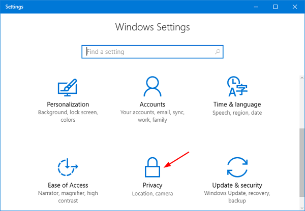 How to Enable / Disable Camera (or Webcam) in Windows 10