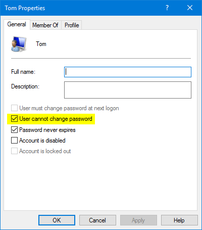 windows 7 cant login to profile