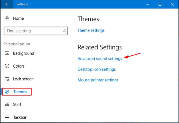 how to change volume settings on windows 10