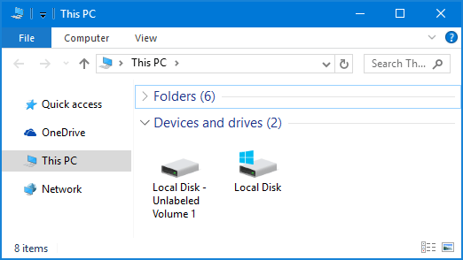 how to remove drive windows 7