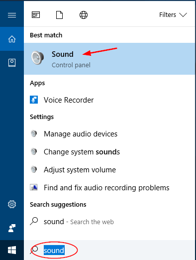 open-sound-via-cortana