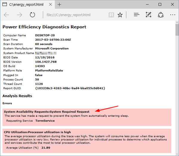 power-efficiency-diagnostic-report