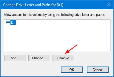 remove-drive-letter