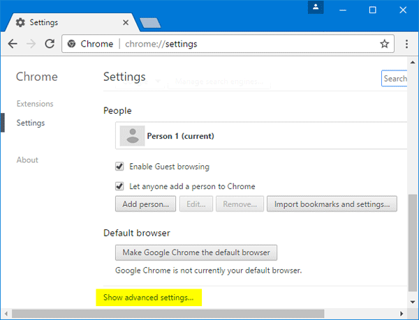 2 Ways to Reset Chrome to Default Settings without Reinstall