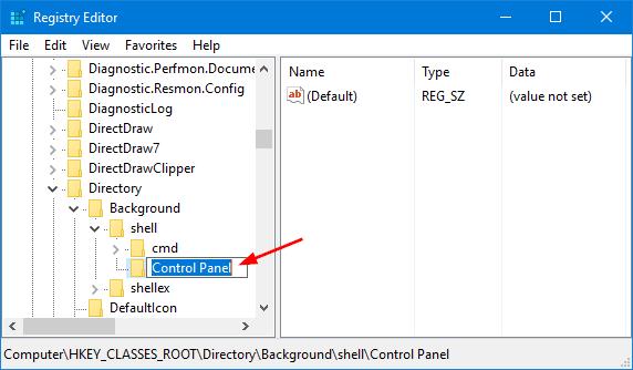 control-panel-key