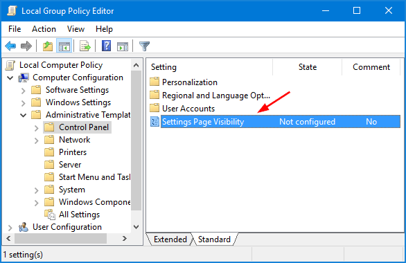 settings-page-visibility