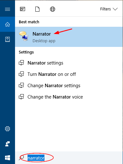 open-narrator-via-cortana