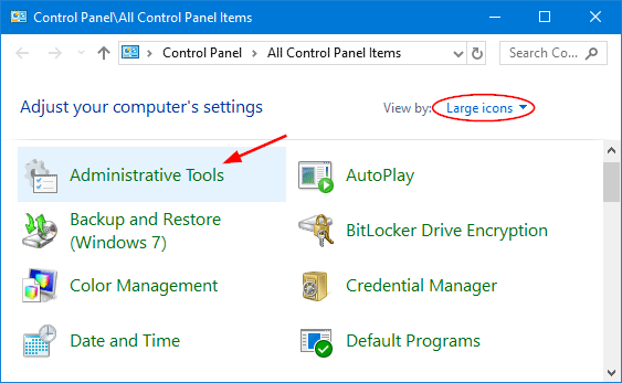 administrative-tools-in-control-panel