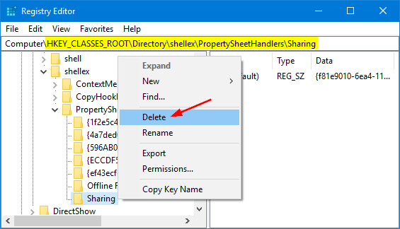 disable-sharing-tab-in-folder-properties