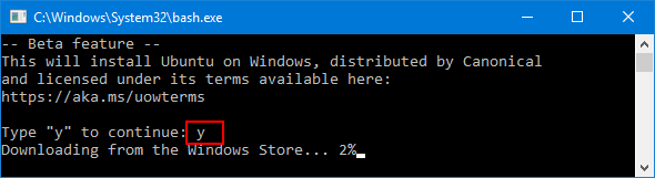 install-bash-on-windows-10