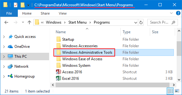 start-menu-folder-location