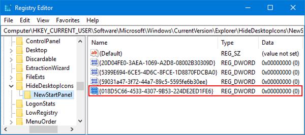 Add / Remove OneDrive Icon from Windows 10 Desktop