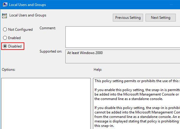 gpedit.msc missing windows 10