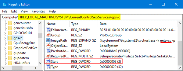 Windows Could Not Connect To The Group Policy Client Service