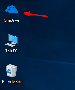 Onedrive Desktop Icon Password Recovery