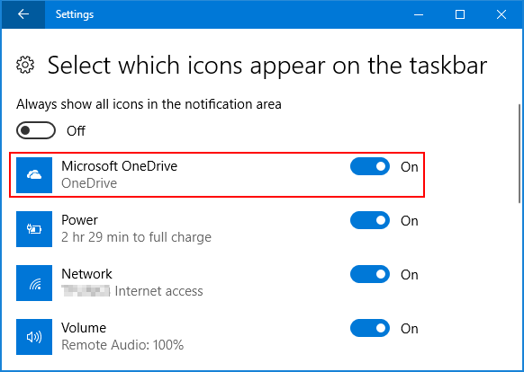 show-onedrive-icon-on-notification-area
