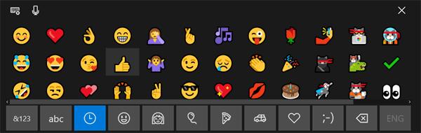 Emojis tinder pc