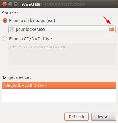create windows usb bootable on ubuntu